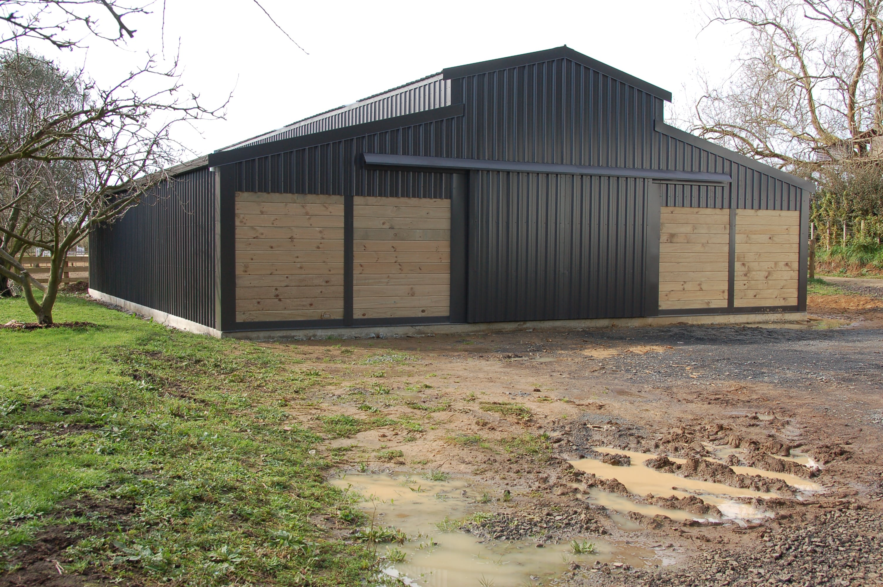 American Barns Steel Interlock Sheds