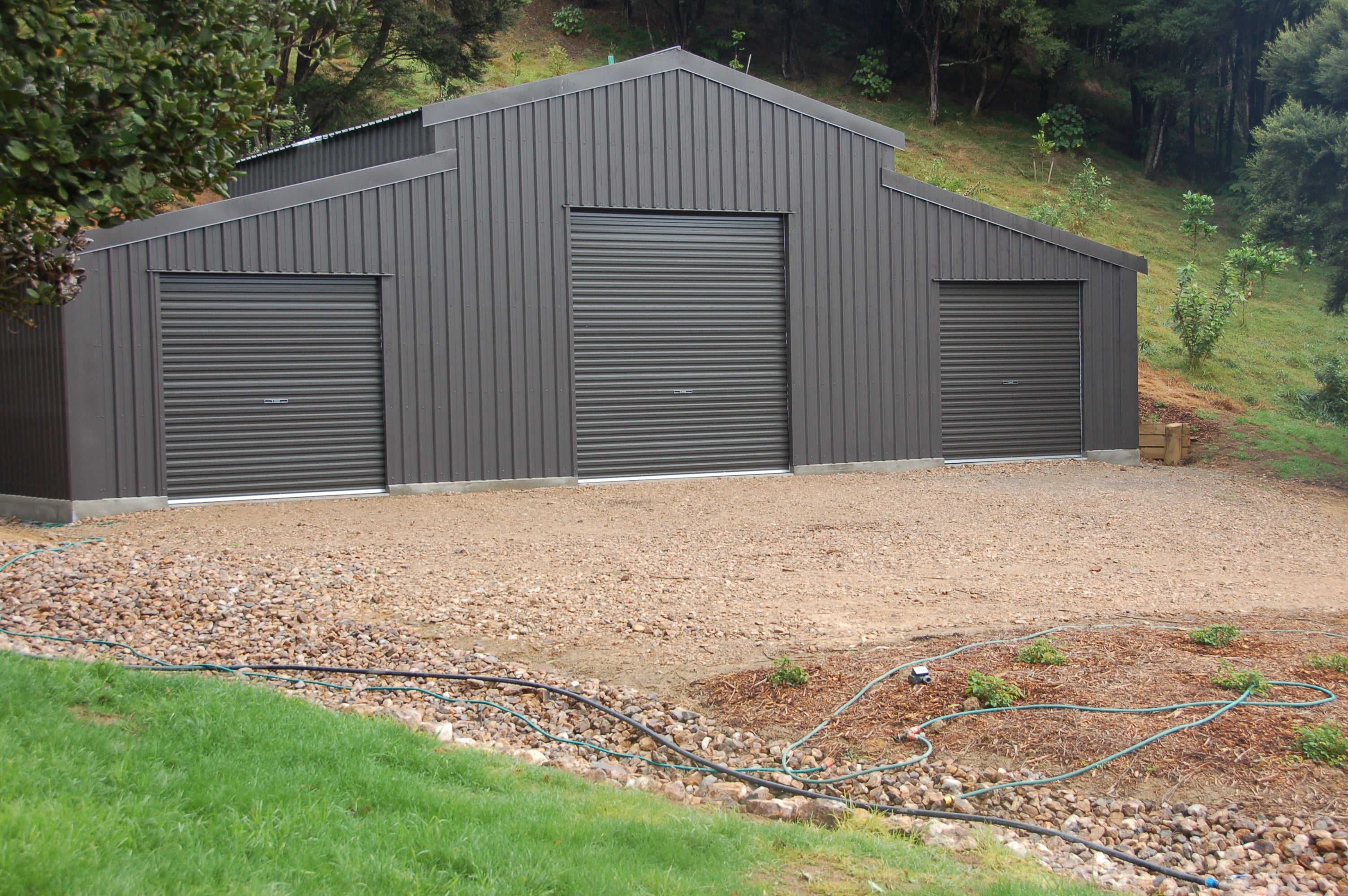 American Barns - Steel Interlock Sheds